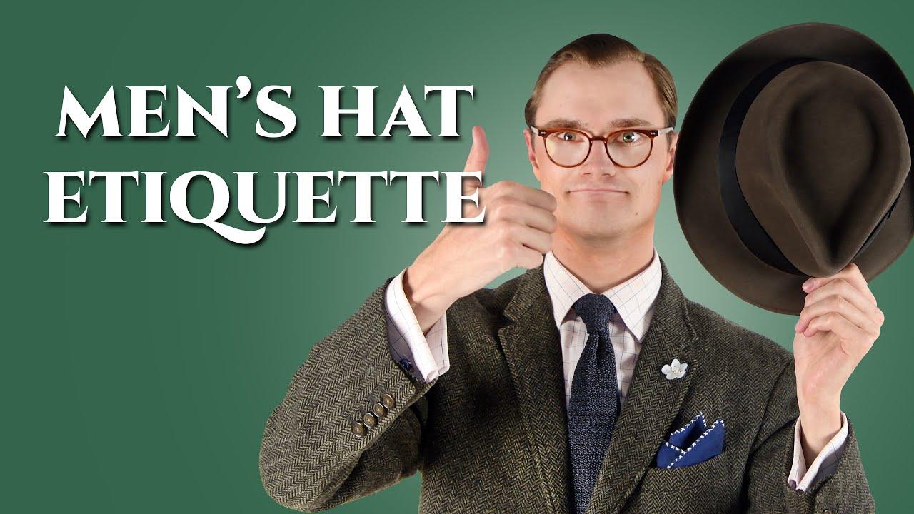 f40a46cb Men's Hat Etiquette Guide — Gentleman's Gazette