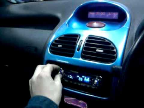 peugeot 206 sound system jbl 14001e - youtube