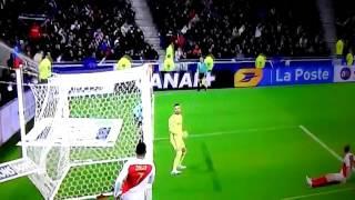 But de Cavani pour le PSG contre Monaco en coupe de la ligue 2017