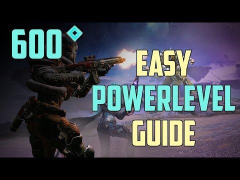 Destiny 2 Forsaken : Schnell auf 600 Power leveln | Powerlevel Guide Deutsch / German