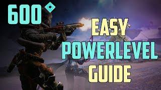 Destiny 2 Forsaken : Schnell auf 600 Power leveln   Powerlevel Guide Deutsch / German