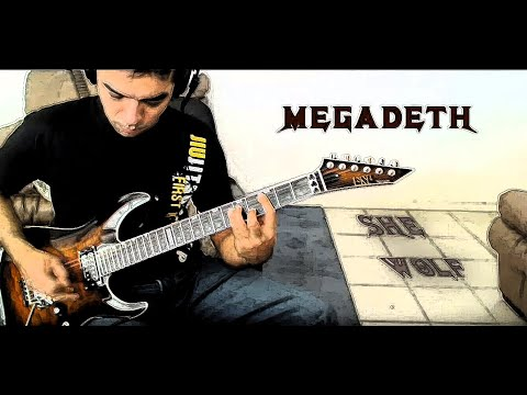 Megadeth - She Wolf (Guitar Cover)