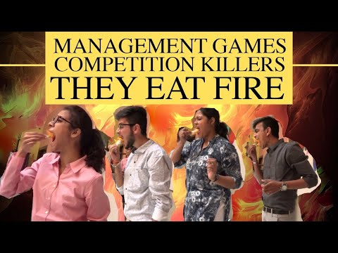 They eat Fire at Taxila Business School