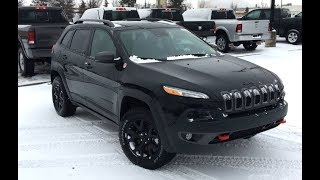 2018 Jeep Cherokee Trailhawk | Locking Rear Differential | Edmonton AB | SCD8417 | Crosstown Dodge