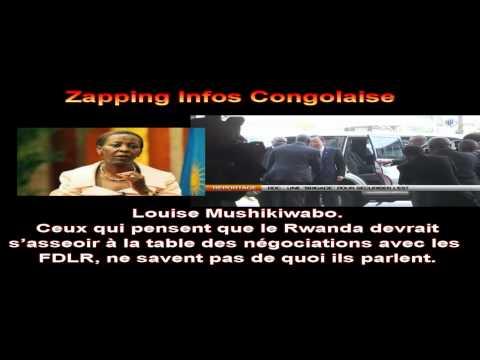 Louise Mushikiwabo, le Rwanda ne négociera pas avec les génocidaires des FDLR