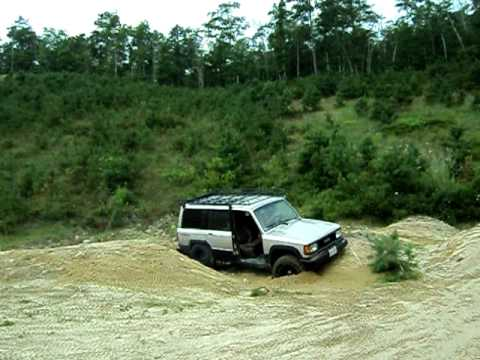 Isuzu Trooper 4x4 Stuck Like Chuck Youtube