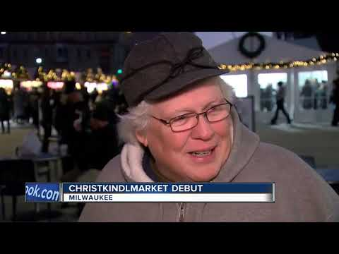 Christkindlmarket debuts in downtown Milwaukee