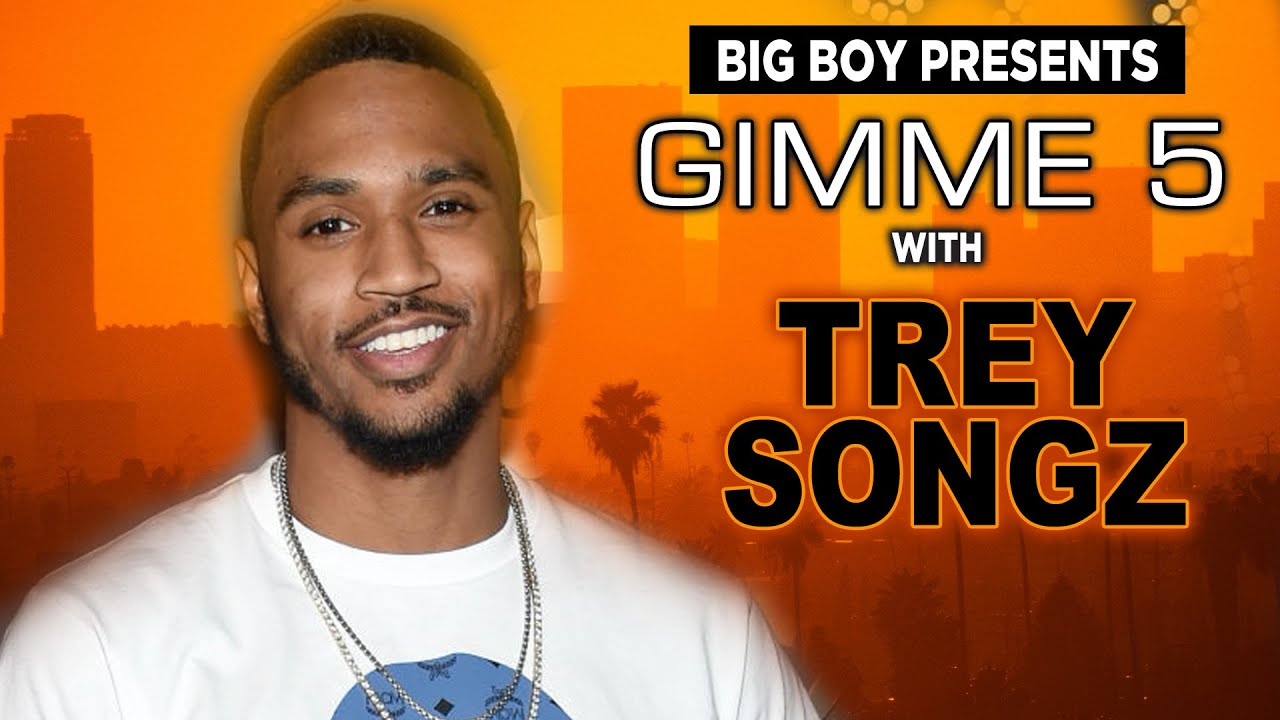 Trey Songz Answers 5 Hard Questions in Big Boy's Gimme 5
