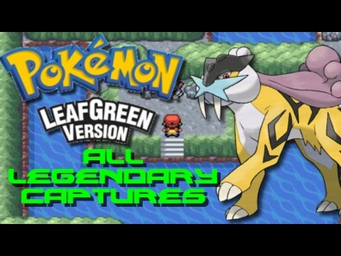 Pokemon Leaf Green: ALL Legendary Pokemon Locations!!!