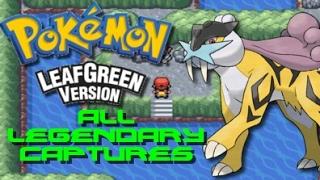 Pokemon Leaf Green: ALL Legendary Pokemon Locations!!!