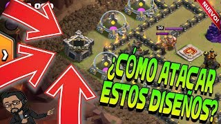 DISEÑO DE GUERRA CRAKEADO | CASTILLO DE CLAN OUTSIDE | 3 Estrellas | Rogersslike Clash of Clans