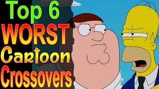 Top 6 Worst Cartoon Crossovers