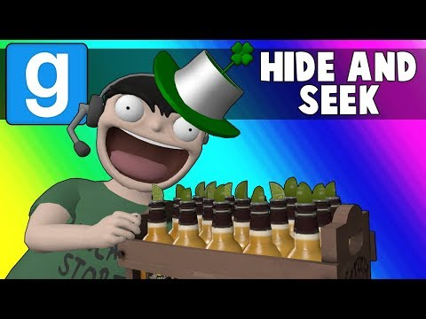 Gmod Hide and Seek Funny Moments - St. Patricks Day 2018! (Garrys Mod)