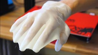 AWESOME 3D PRINTED WEBBED GLOVES!!!
