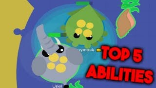 Top 5 Abilities in Mope.io