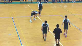 H29 ハンドボール秋季二部リーグ 桐蔭大vs 関東学院(5/6)