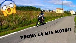 MIO FRATELLO PROVA A GUIDARE LA MIA MOTO!!!