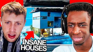 SIDEMEN REACT TO THE 10 MOST INSANE HOUSES