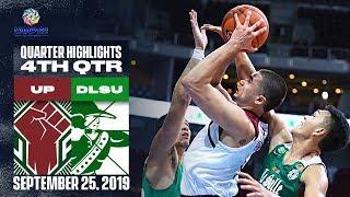 UP vs. DLSU - September 25, 2019 | 4th Quarter Highlights | UAAP 82 MB