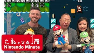 Download Takashi Tezuka Rates Our Super Mario Maker 2 Levels - Nintendo Minute Mp3 and Videos