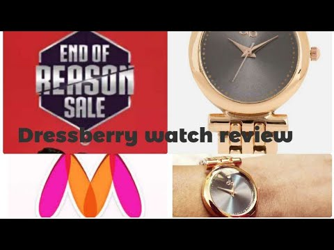 Myntra Shopping Ll End Of Reason Sale Ll Dressberry  Watch Review Ll