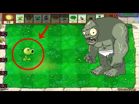 99 Peashooter Vs Dr. Zomboss - Plants Vs Zombies Battlez