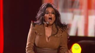 Janet Jackson - Video megamix [HD] (Live American Music Awards 2009) #Gay