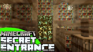 Minecraft: Make your own Awesome Secret Entrance!