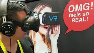 Naughty America VR at CES 2017