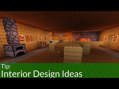 Easy Interior Decorations for Your Minecraft House