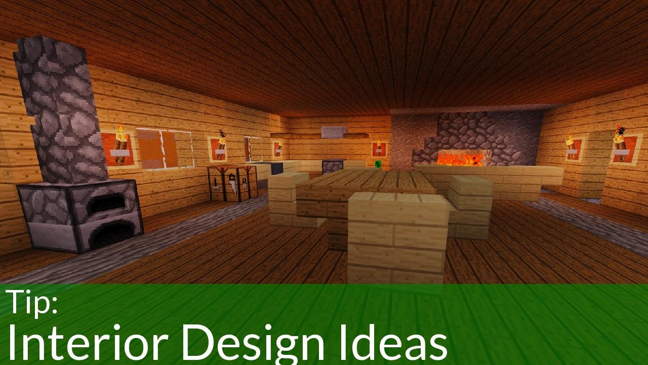 Easy Interior Decorations For Your Minecraft House Youtube