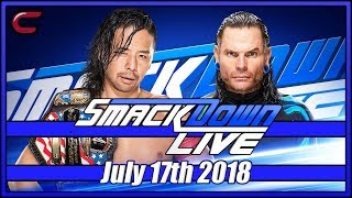WWE SmackDown Live Stream July 17th 2018: Live Reaction Conman167