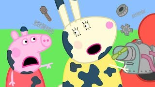 Peppa Pig Official Channel | Miss Rabbit is Mending Peppa Pig's Car