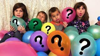 Boys VS Girls Surprise Toy Balloon Challenge!