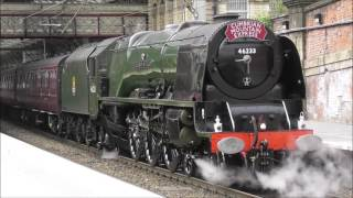 46233 Duchess of Sutherland West Coast Mainline Chasing 550th VIDEO!!!!!!!!!!!