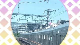 ダイジェスト 私遅いんです。 高槻9時1分発快速西明石行 新快速の半分の60km/h で大阪駅まで走ります。 2021年7月21日 Googleさん#20
