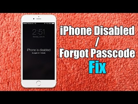 forgot passcode for iphone how to bypass iphone disabled screen without restore 2259