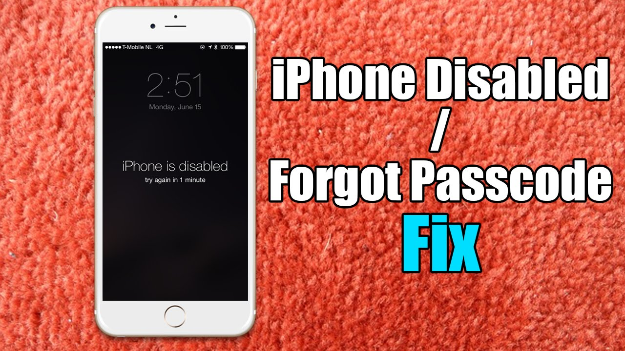 How to reset iphone 7 to factory settings without password