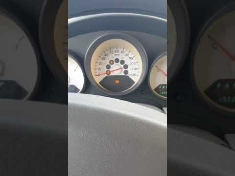 2007 Dodge Caliber Don't Want To Shift/dash Brake Light