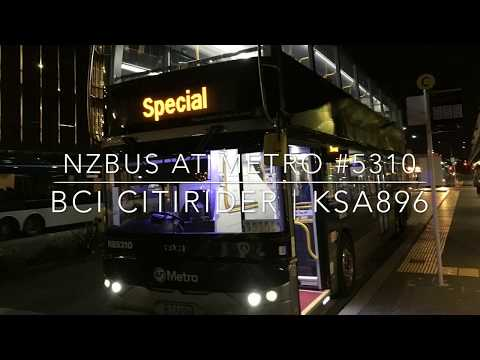 BCI CITIRIDER Double Decker #5310 | Route 18 City to New Lynn | Walk-around + Driver view