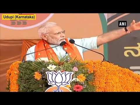 K'taka polls: PM Modi slams Congress for believing in 'Ease of Doing Murder'