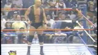Stone Cold's Reaction To Bret Hart Quitting On Raw Jan 97