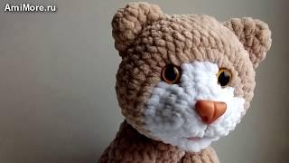 Амигуруми: схема Кот Барсик. Игрушки вязаные крючком - Free crochet patterns.