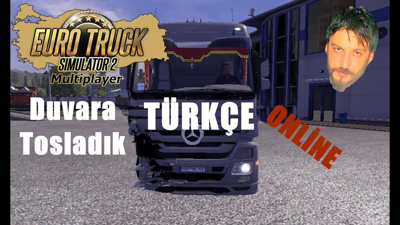 Euro Truck Simulator 2 T Rk E Online Multiplayer Duvara