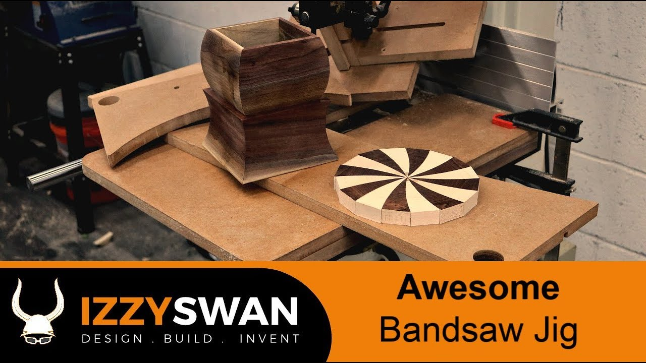 one bandsaw jig to rule them all and in the wood shop bind them    woodworking how to