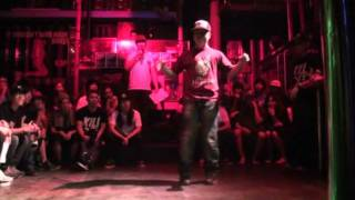 Bboy Rhythm Gate at Krump session vol.10 2011.07.31