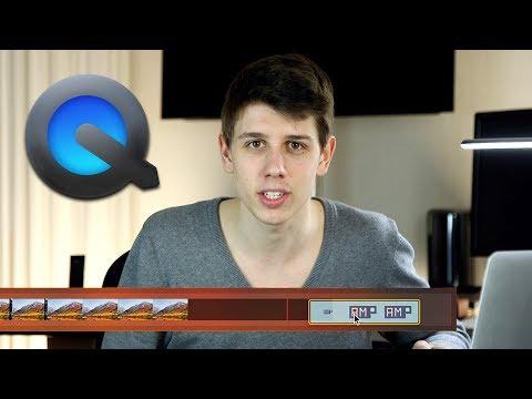 Schneller Videoschnitt mit QuickTime Player