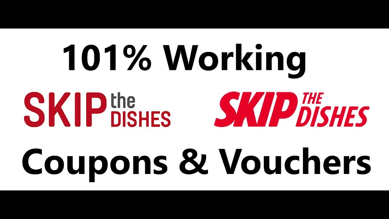 Skip The Dishes Coupon – OCT 12222