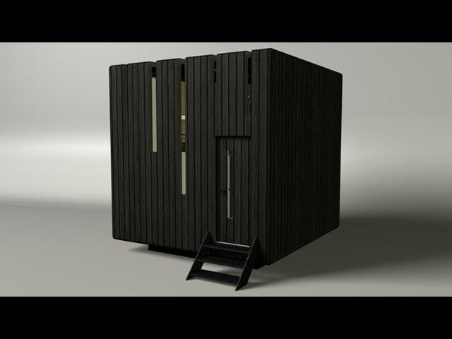 Micro House By Gabrijela Tumbas Papic