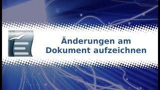OpenOffice Writer: Änderungen am Dokument aufzeichnen